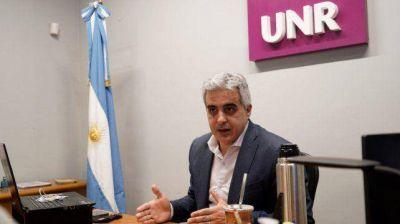 Regreso a clases: el rector de la UNR planteó la necesidad de volver a la presencialidad