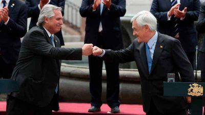 """Alberto Fernández: """"No abordamos el tema de Venezuela con el presidente Piñera"""""""
