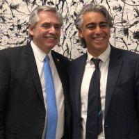 Alberto en Chile: cena con Enríquez-Ominami fuera de agenda y