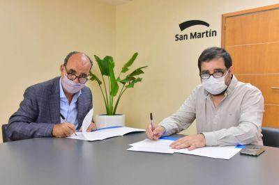San Martín: el Municipio se suma a la Red de Mentores de la UNSAM