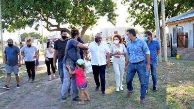Julio Zamora destacó el acompañamiento del Municipio en la urbanización de un barrio en El Talar sur