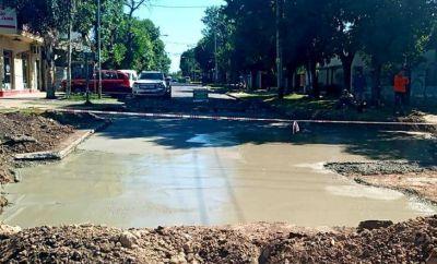 Plan de bacheo para calles y avenidas