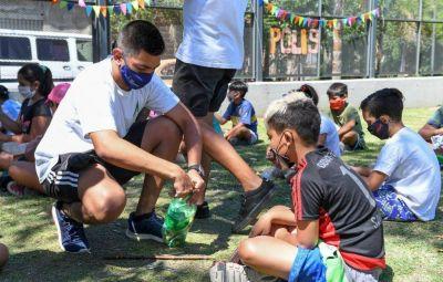 Reciclaje y huerta, en las colonias de San Fernando