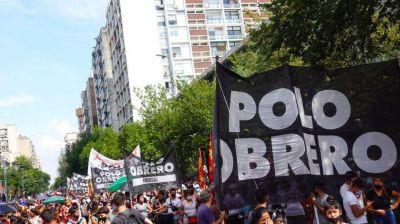 Córdoba: marcha del Polo Obrero, en reclamo por la pobreza y desocupación