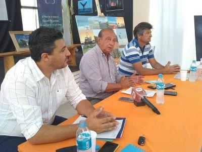 Sánchez anunció importantes obras en Claromecó