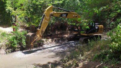 Anunciaron una nueva etapa en la recuperación ambiental del Arroyo Rodríguez
