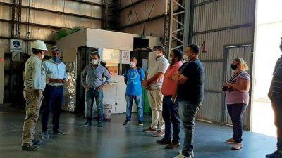 Un equipo de trabajo de Rivadavia visitó el Parque de Tecnologías Ambientales