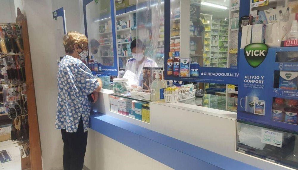 La venta de medicamentos Covid descendió un 40%