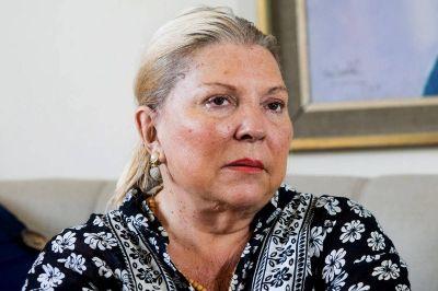 """Elisa Carrió: """"La agenda de la impunidad es de todo el PJ"""""""