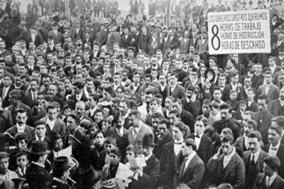 El movimiento obrero gana terreno