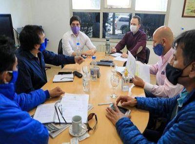 Dirigentes de ATE Río Grande se reunieron con funcionarios municipales