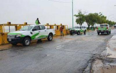 Evacuados y alertas: Creció el Rio de la Plata en la zona costera sur y norte del conurbano bonaerense