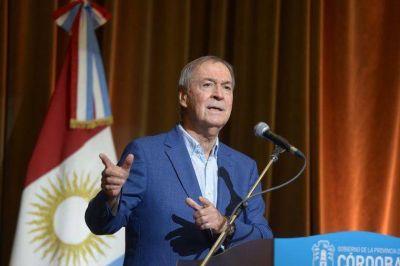 Schiaretti abre un nuevo período de sesiones en Córdoba