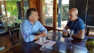 Mauricio Macri y Horacio Rodríguez Larreta se reunieron a solas en el Sur para delinear la estrategia de Juntos por el Cambio de cara a las elecciones