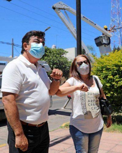 Espinoza participó con los vecinos del flamante Plan Integral de Seguridad para La Matanza