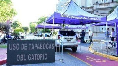 Se realizarán dos nuevas jornadas de testeos frente al Palacio Municipal