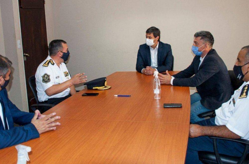 El Ministro de Seguridad recibió al Jefe de policía de Salta