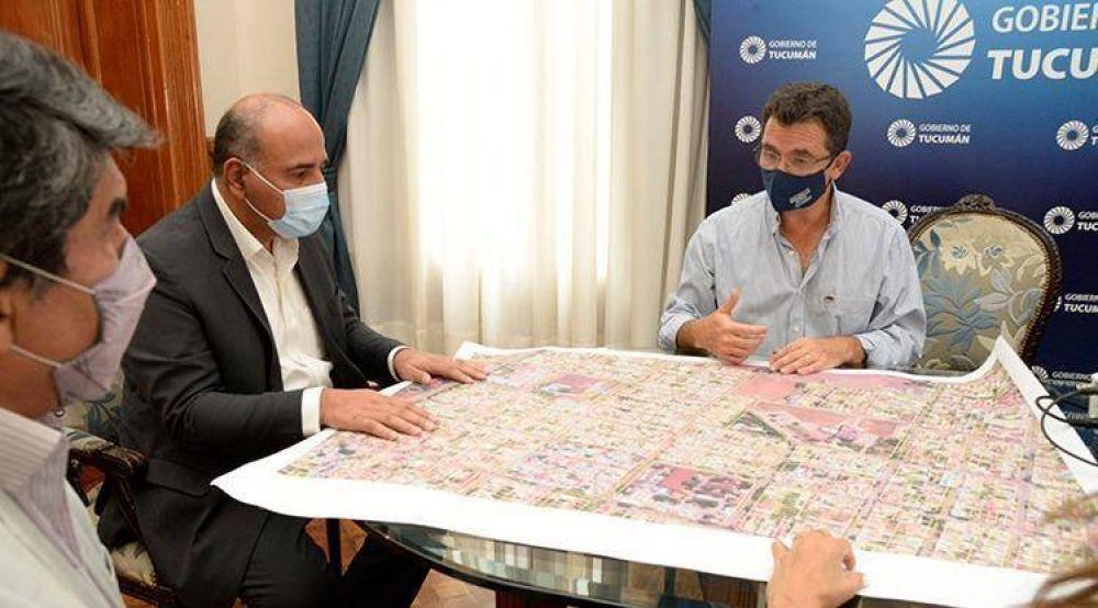 Manzur envía a la Legislatura un convenio para inversiones millonarias en barrios populares