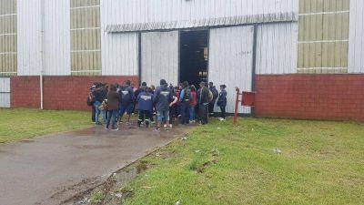 Protesta: una cooperativa toma el Ecopunto de San Vicente
