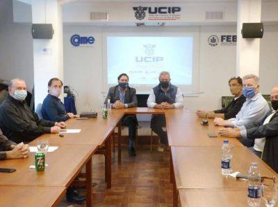 La UCIP y el SEC acordaron trabajar para fortalecer el sector mercantil marplatense