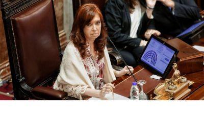 Cristina Kirchner reactiva el Senado con una agenda que lleva su impronta