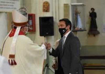 Mons. Tissera presidió el tedeum por los 130 años de Florencio Varela