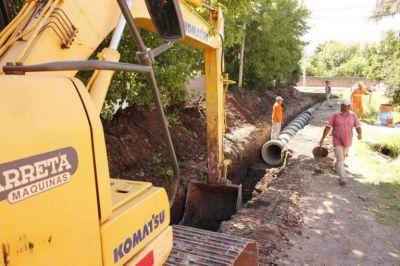 San Miguel: Avanzan las obras de pavimentación