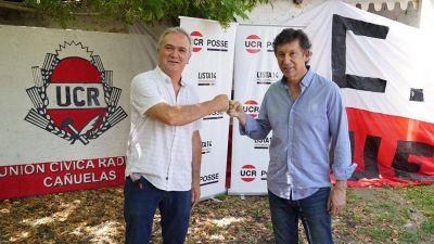 Ezequiel Rizzi, junto a Gustavo Posse: «Queremos volver a ser un partido de gobierno»