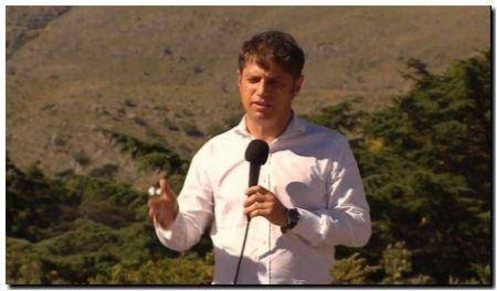 Kicillof: Se postergó la visita hasta nuevo aviso