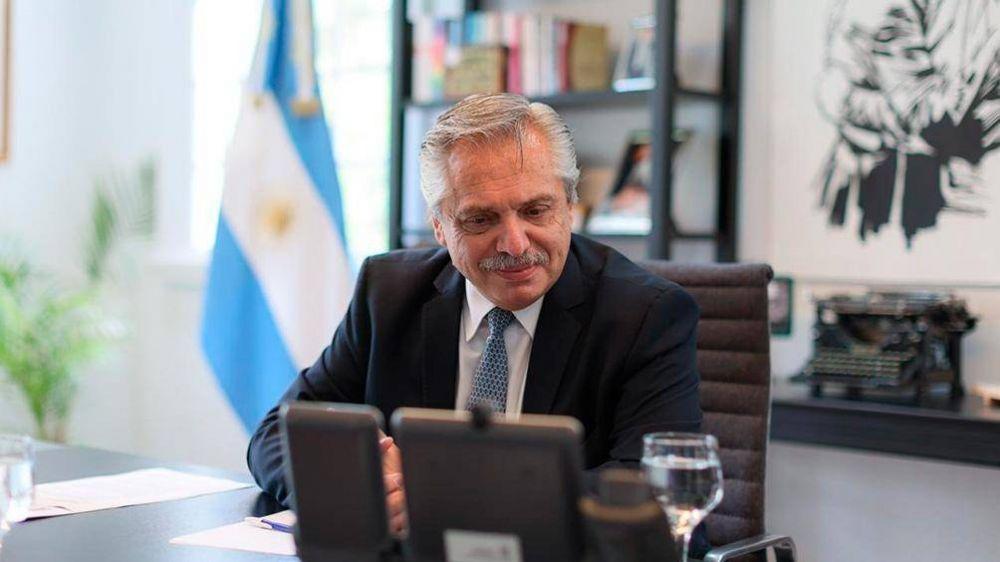 La provisión de vacunas y las negociaciones con el FMI, ejes del diálogo entre Fernández y Putin
