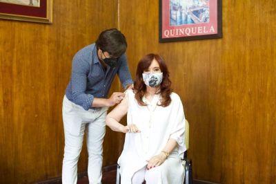 Cristina Kirchner celebró la publicación de los resultados de la Sputnik V en The Lancet
