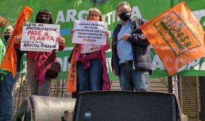 FESPROSA reclama salarios justos y protesta en varias provincias