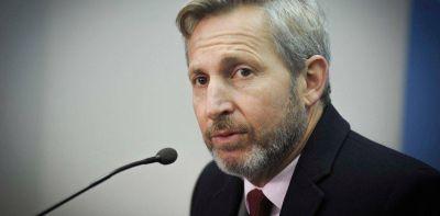 """Rogelio Frigerio le respondió a Elisa Carrió: """"Por desconocimiento, confunde los roles de los ministros"""""""