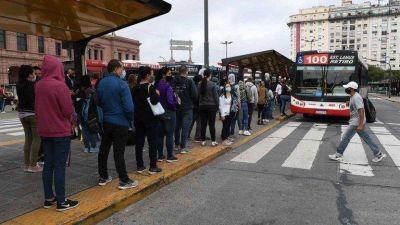 Las seis línes de subtes estuvieron paralizadas durante tres horas por una protesta de metrodelegados