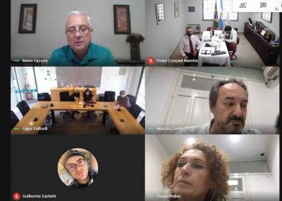Reunión virtual: Tigre y Curitiba trabajan articuladamente en políticas públicas de desarrollo urbano