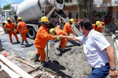 La Matanza invirtió para asfaltar 5 mil cuadras en todo el distrito
