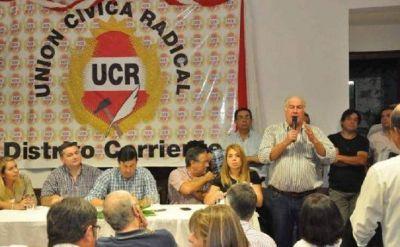 La UCR destaca la aceptación popular de Valdés y la unidad interna