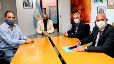 Guerrera se reunió con empresarios chinos, con el ministro Jorge Ferraresi y con tres intendentes