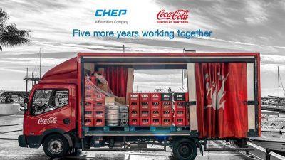 Coca-Cola European Partners renueva su colaboración con Chep