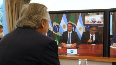 Alberto Fernández apuesta a la integración regional y se reunirá con Jair Bolsonaro en la frontera de Argentina y Brasil