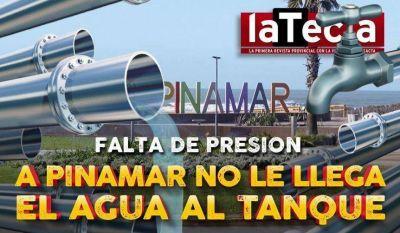 A Pinamar no le llega el agua al tanque