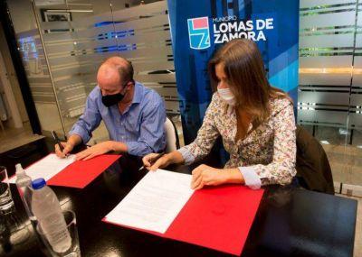 Convenio de colaboración para mejorar la seguridad en Lomas de Zamora