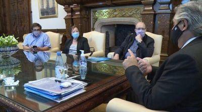 Frizza, tras la reunión con Alberto Fernández: 'El presidente quedó convencido que la COOPI es una apuesta a la vida'