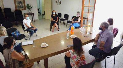 Pisano visitó LALCEC Bolívar en el 61º aniversario de la institución