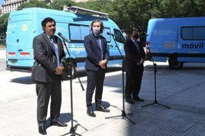 El Gobierno nacional presentó el programa de agencias móviles