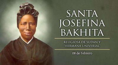 Hoy la Iglesia celebra a Santa Josefina Bakhita, ejemplo de esperanza cristiana