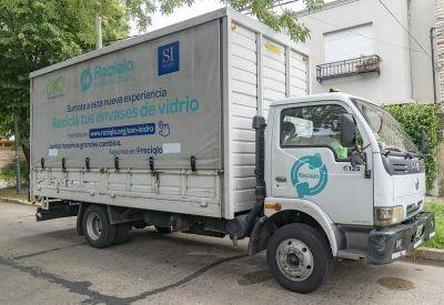 San Isidro y su primer programa de reciclado de vidrio a domicilio