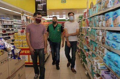 Morón | El Municipio fiscalizó el cumplimiento de los acuerdos de precios en supermercados