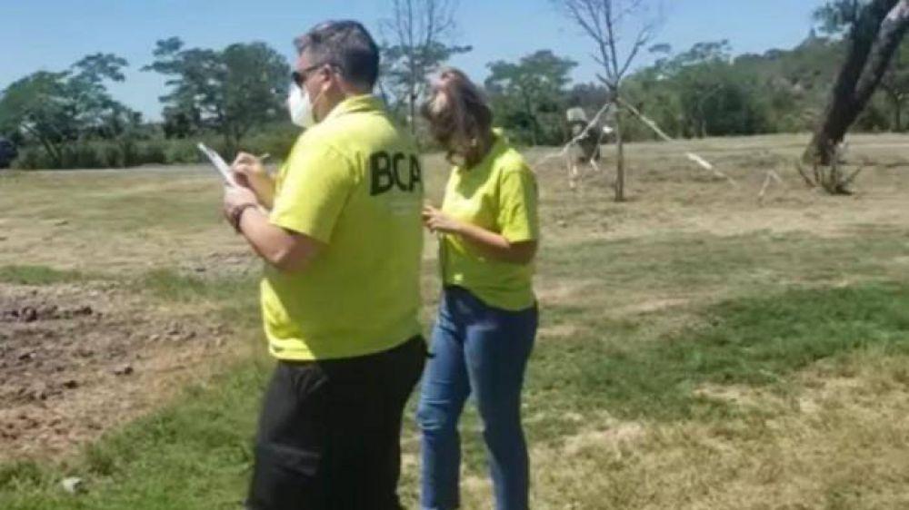 Parque Aguiar: El Ministerio de Ambiente vino a supervisar la obra