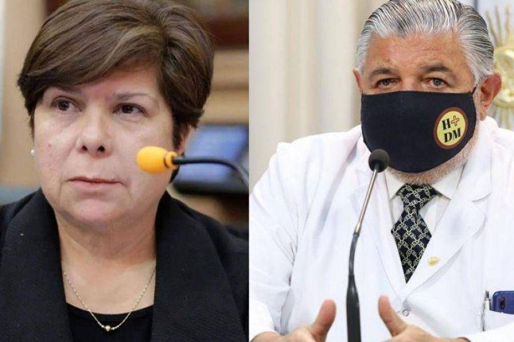 El ministro Esteban denunciará a la diputada que lo insultó a través de un audio